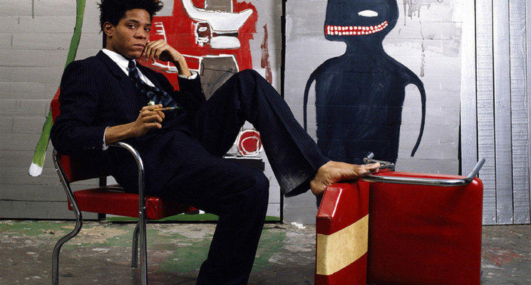 Highlight large jean michel basquiat  1985   lizzie himmel