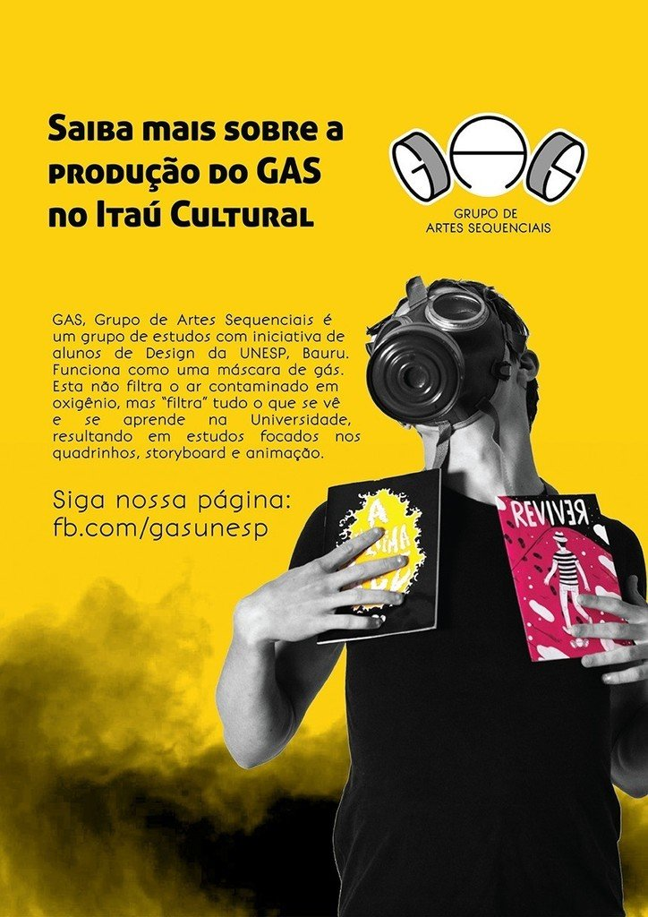 Cartaz do coletivo GAS